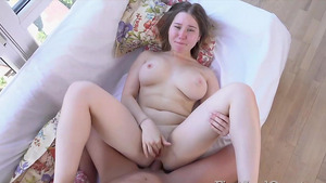 Rough 1st-time butt fuck with big boobs naked girl Amalia Davis.