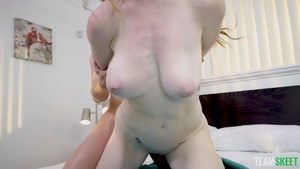 Redhead babe Nala Brooks big natural tits doggystyle bouncing braest