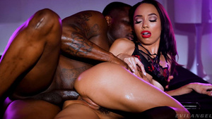 Glamour babe Alexis Tae Anal Fantasy with big blsck cock hd xxx Avil angel free